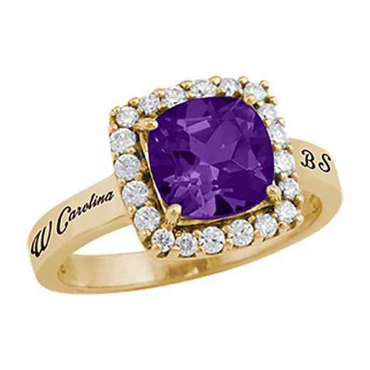Western Carolina University Women's Embrace College Ring