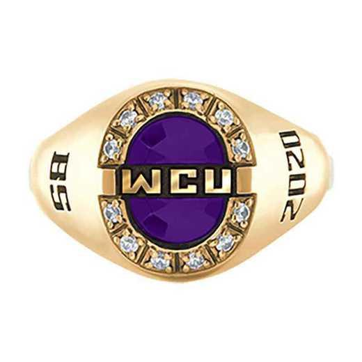 Western Carolina University Women's Enlighten College Ring
