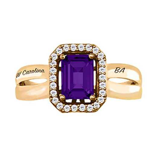 Western Carolina University Women's Inspire College Ring