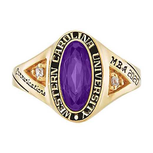 Western Carolina University Women's Signature College Ring