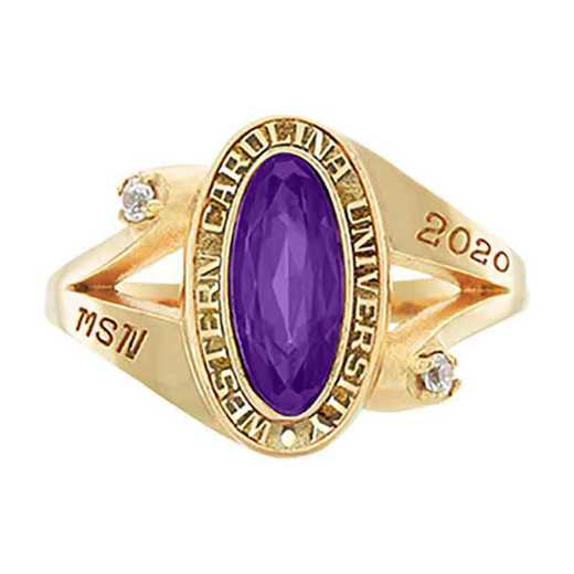 Western Carolina University Women's Symphony College Ring