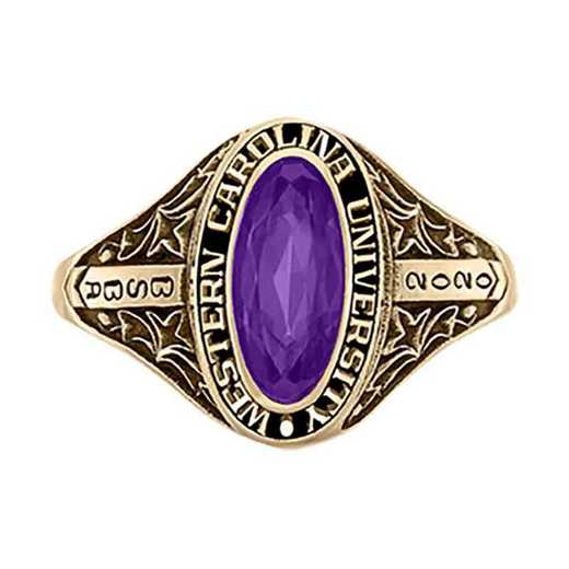 Western Carolina University Women's Trellis College Ring