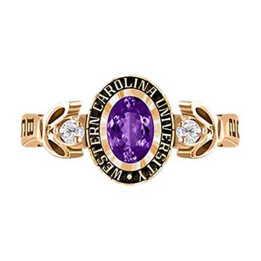 Western Carolina University Women's Twilight College Ring