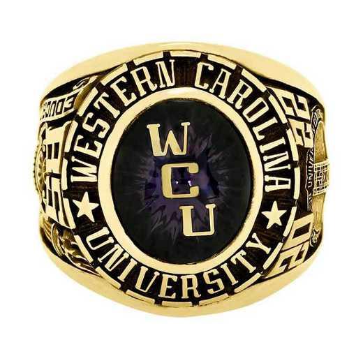 Western Carolina University Men's Large Traditional College Ring