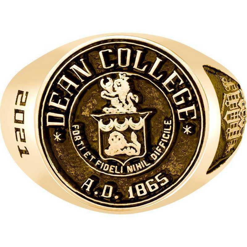 Dean College Men's 4820 Round Signet