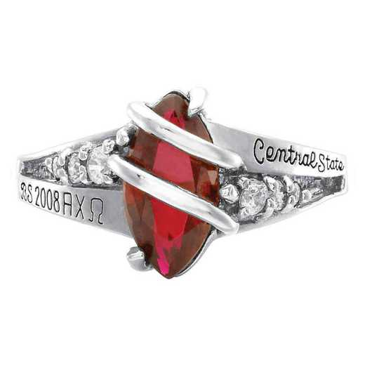 Women's Accomplished Collegiate Class Ring