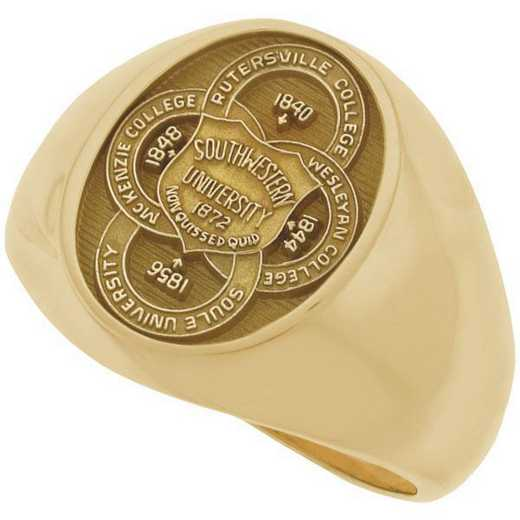 Southwestern University Men's Large Signet Ring