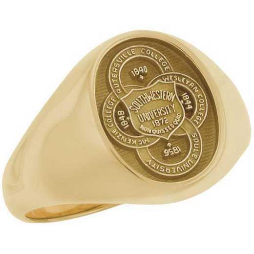 Southwestern University Women's Small Signet Ring