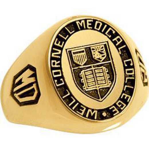 Weill Cornell Medical College Men's Signet 326L Ring