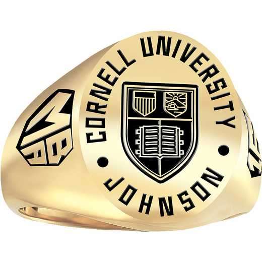 Cornell School of Management Men's Large Signet Ring