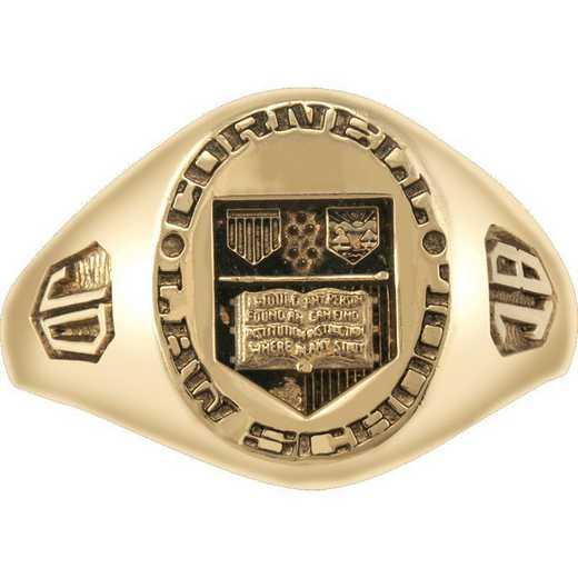 Cornell Law School Women's Small Signet Ring