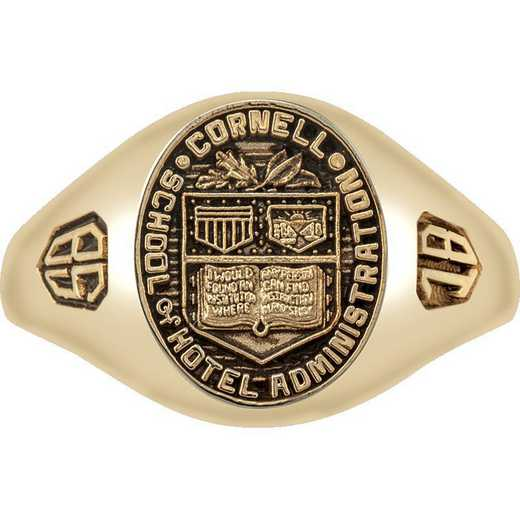 Cornell School of Hotel Administration Women's Small Signet Ring