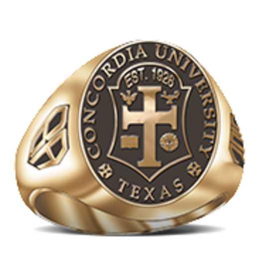 Concordia University Texas Women's Signet Ring