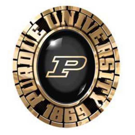 Purdue University Follett Black & Gold Women's Pendant