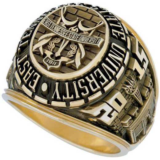 East Tennessee State University Men's Large Traditional Ring