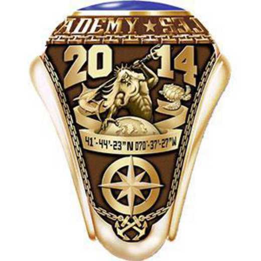 Massachusetts Maritime Academy 2014 Women's Traditional Ring