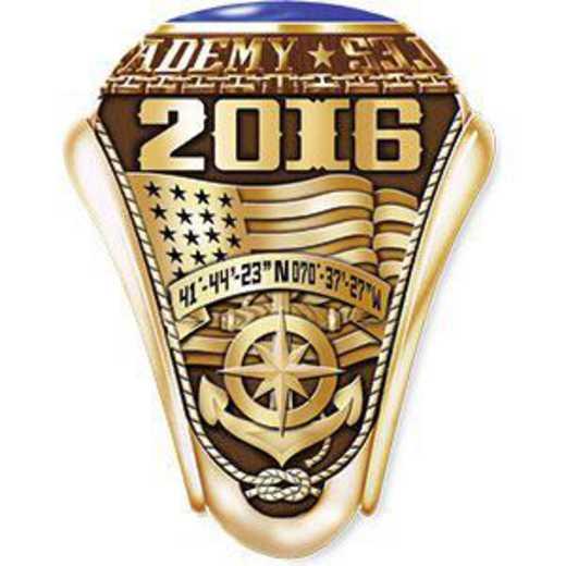 Massachusetts Maritime Academy 2016 Women's Traditional Ring