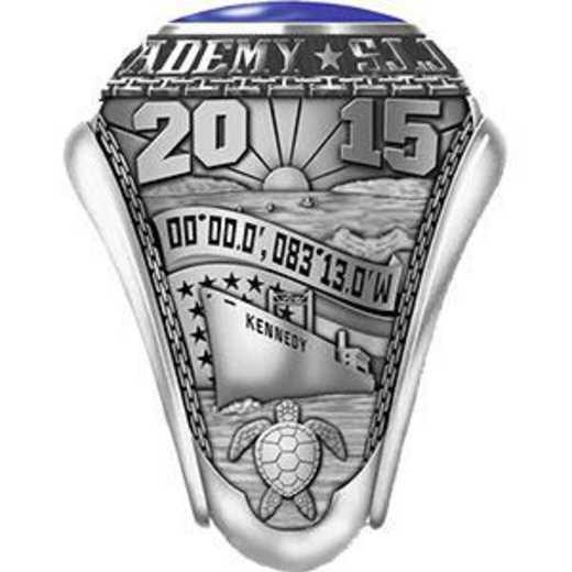 Massachusetts Maritime Academy 2015 Women's Traditional Ring