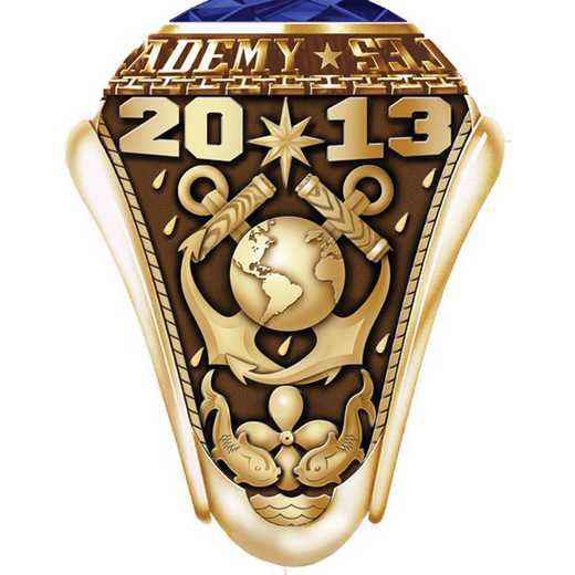 Massachusetts Maritime Academy 2013 Women's Traditional Ring