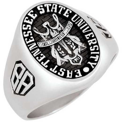 East Tennessee State University Men's Large Signet Ring