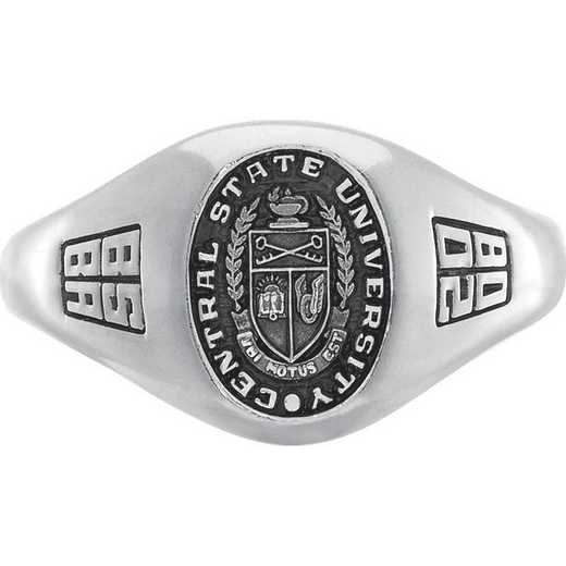 Montclair State University Women's Small Signet College Ring