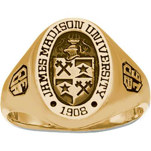 James Madison University Class of 2016 Women's 345S Signet Ring
