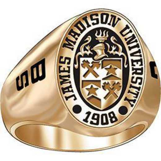 James Madison University Class of 2013 Women's Women's Large Signet Ring