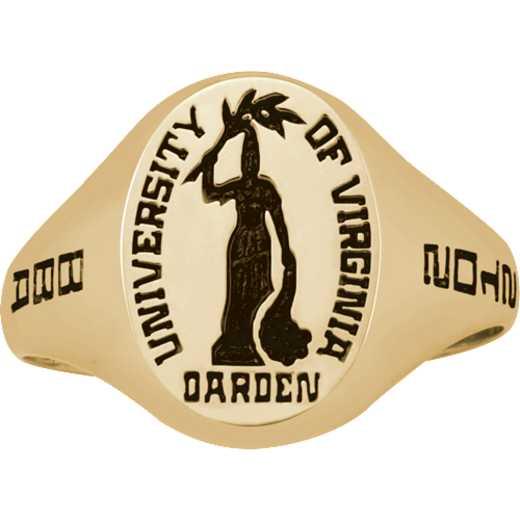 University of Virginia Darden School of Business Women's Small Signet Ring