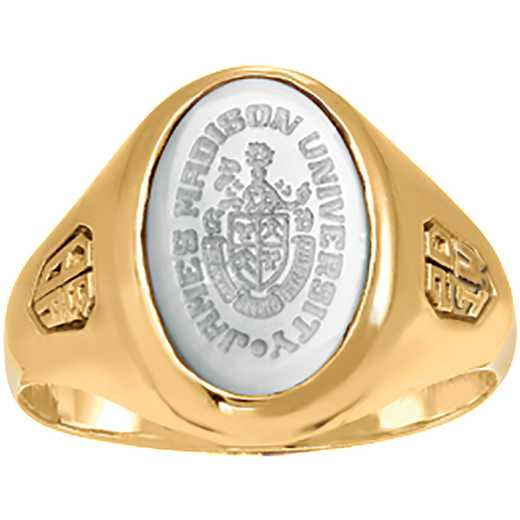 James Madison University Class of 2014 Women's 345SS Signet Ring