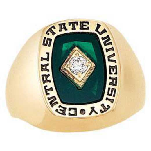 The University of Chicago Booth School of Business Men's Seahawk Ring
