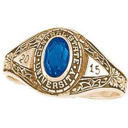 University of California at Riverside Women's Bouquet Ring College Ring