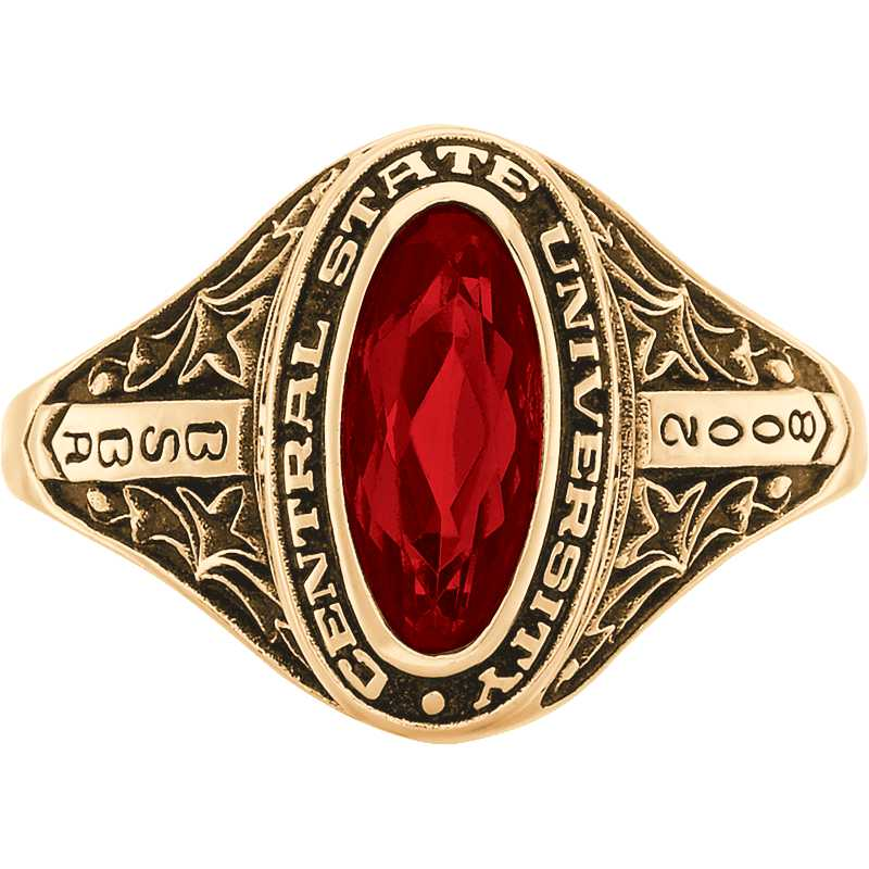 East Tennessee State University Women's Trellis Ring