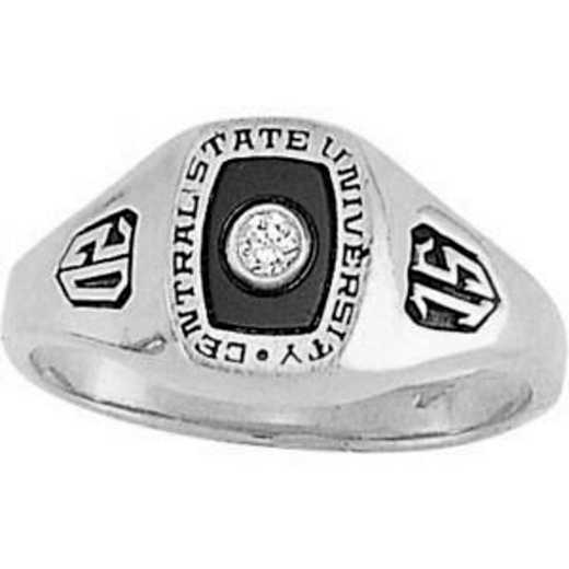 University of California at Riverside Women's Noblesse Ring College Ring