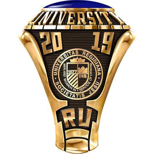 Regis University Men's 876L1 Traditional Ring