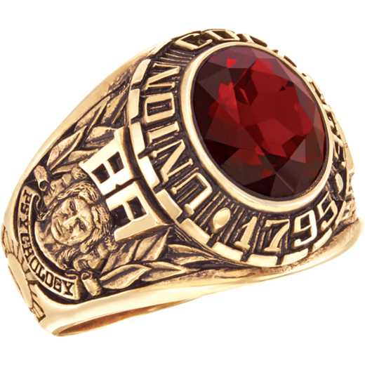 Union College Men's Medium Oval Traditional Ring