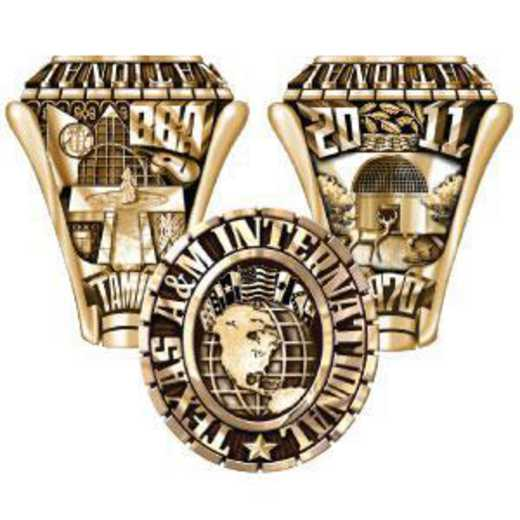Texas A&M International University Men's Traditional Ring