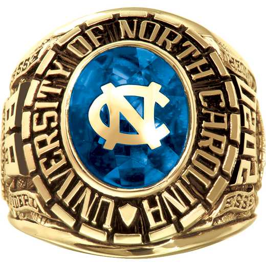 University of North Carolina at Chapel Hill Men's Oval Traditional Ring