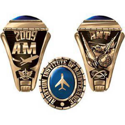 Aviation Institute of Maintenance Houston Women's Extra Small Traditional Ring