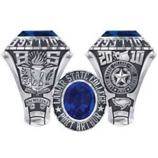 Lamar State College at Port Arthur Women's Traditional Ring