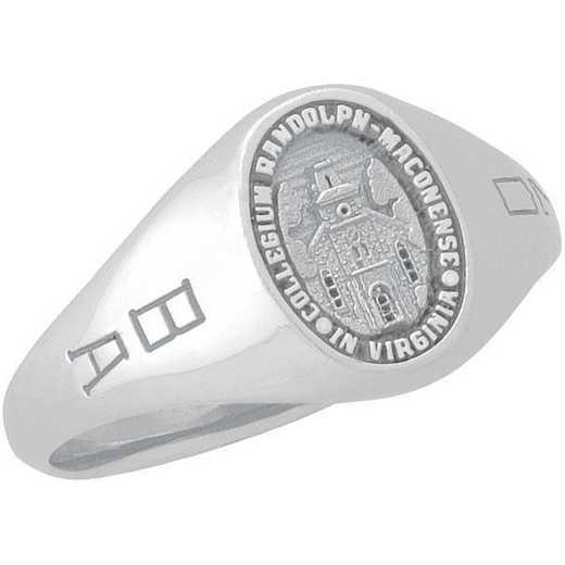 Randolph-Macon College Women's Laurel Signet Petite Ring