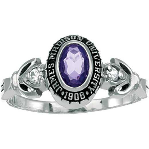 James Madison University Class of 2015 Women's Twilight Ring