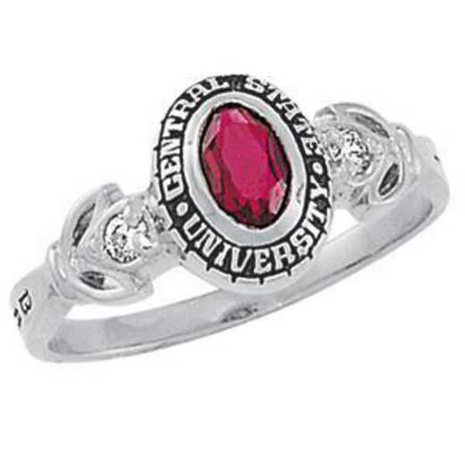 University of California at Riverside Women's Twilight Ring College Ring