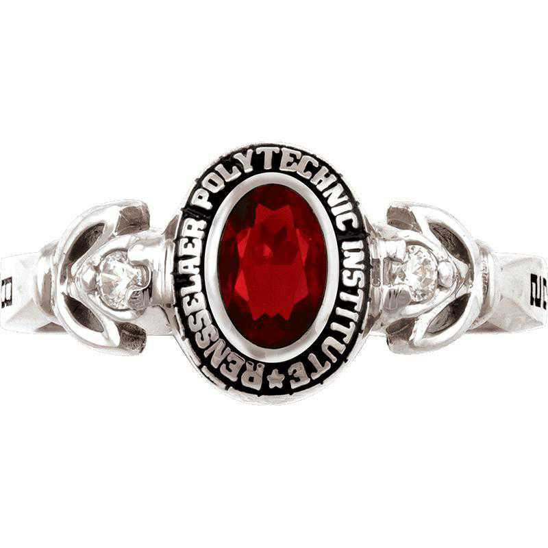 Rensselaer Polytechnic Institute Class of 2014 Women's Twilight Ring with Cubic Zirconias