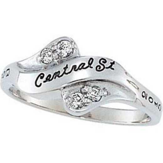 Santa Clara University Women's Seawind Ring with Diamond