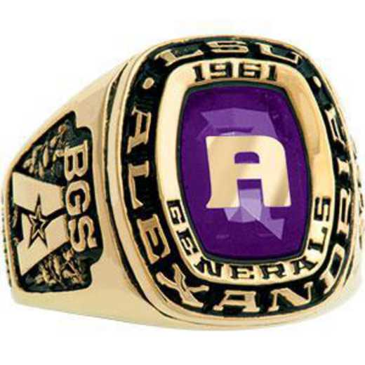 Louisiana State University at Alexandria Men's Legend Ring