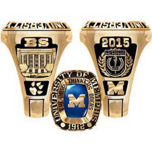 The University of Memphis Men's Legend Ring