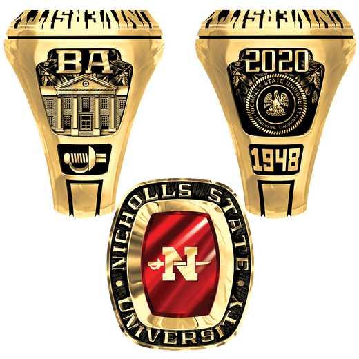 Nicholls State University Men's Legend Ring