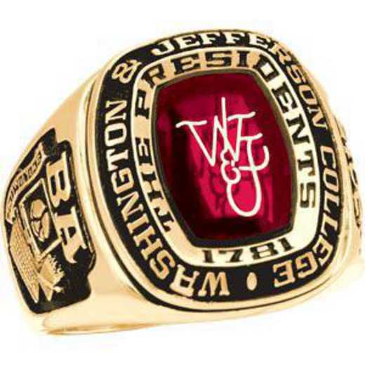 Washington and Jefferson College Men's Legend Ring