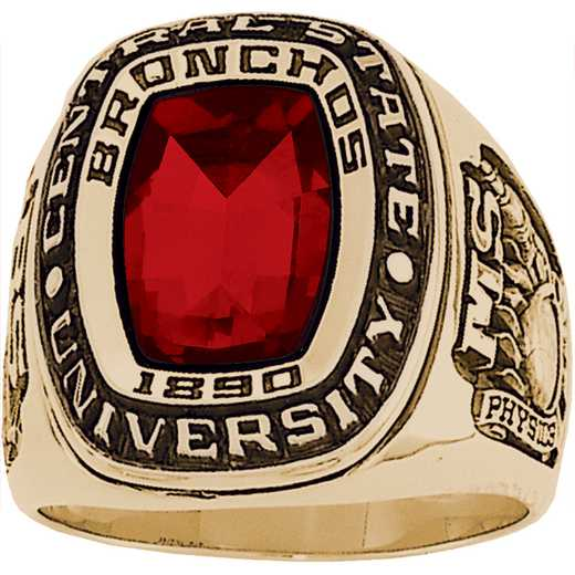 New Jersey Institute of Technology College of Engineering Men's Legend Ring