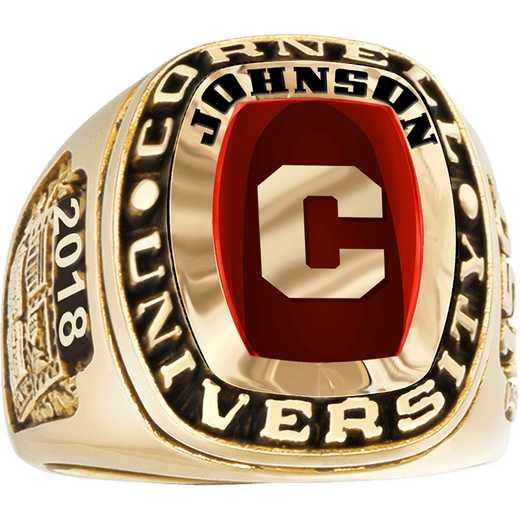 Cornell University Johnson School of Management Men's Legend Ring